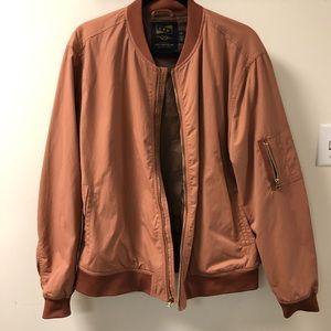 Rusty Pink Bomber Jacket